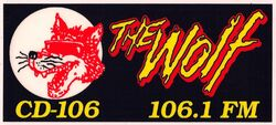 WNCD 106.1 CD-106 The Wolf
