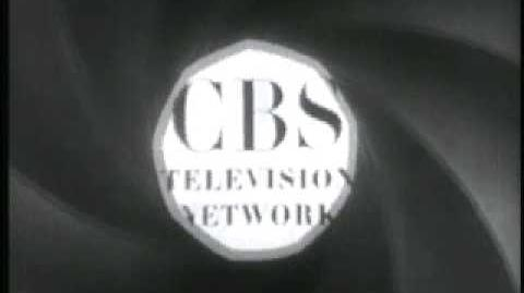 CBS-TV Logo 50's with announcer