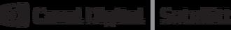 CD satellitt logo black