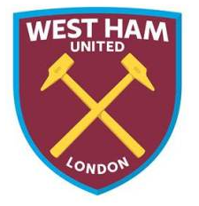 Image - New West Ham United FC logo (claret, blue and gold ...