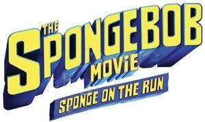 The SpongeBob Movie Sponge on the Run logo