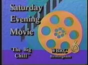 WBRC Channel 6 Saturday Night Movie The Big Chill promo 1990