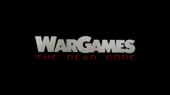 Wargames the dead code movie title card