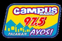 Campus Radio 97.5 Palawan Logo 2009