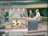 Fox 32 News at 9 Chicago 1990