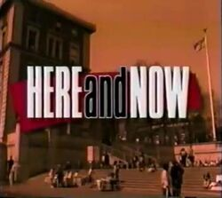 Here and Now intertitle