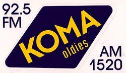 KOMA 92.5 FM 1520 AM