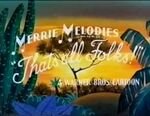 Merrie Melodies Two Crows from Tacos Ending