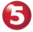 TV5 Number 5 Logo 2015