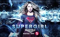TV5 Supergirl Season 2 Test Card