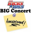 WDBY-FM's The New Kicks 105.5's Big Concert Announcement Promo For Wednesday Morning, September 28, 2011
