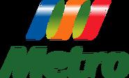Metro logo 2004 apilado