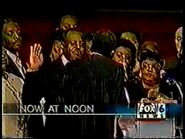WBRC's FOX 6 News at Noon video opening from December 1999