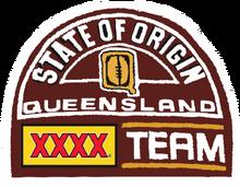 1995 queensland state of origin logo