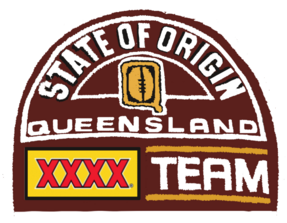 1995 queensland state of origin logo