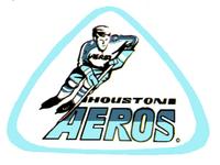 Houston Aeros (WHA) logo