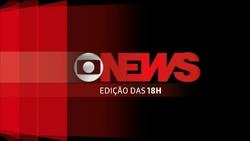 Jornal GloboNews - Edição das 18h vinheta 2013