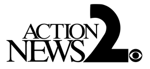 KCBS Channel 2 Action News 1988-92 Logo A