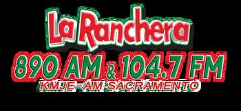 La Ranchera KMJE 890 AM 104.7 FM