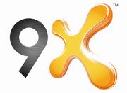 9X logo