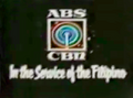 ABS-CBN In The Service of the Filipino (1989-1990, art version)