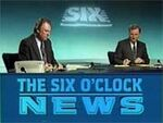 BBC-TV's BBC News' The 6 O'Clock News Video Open From Thursday Evening, January 17, 1991