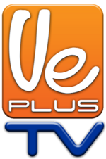 Logo de Ve Plus TV biselado