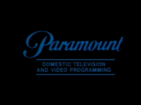 Paramount Domestic Television and Video Programming