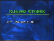 Polsat 1993 TV schedule ident