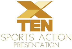 Ten sports action logo 1988