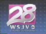 WSJV 28 Sign-Off 1989 1