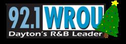 92.1 WROU Christmas Logo