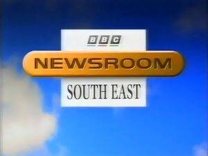 BBC Newsroom South East 1996