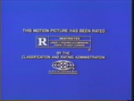 MPAA R Rating (Renegades Variant)
