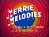 Merrie Melodies 1954