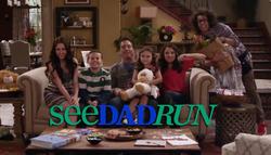 See Dad Run Titlecard