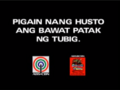 Abs cbn water conservation message