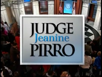 Judge Jeanine Pirro title card