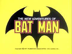 The new adventures of batman logo