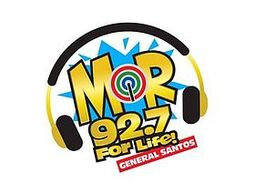 MOR 92.7 General Santos new logo