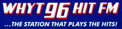 WHYT 96 HIT FM logo