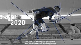 Concept video of the Tokyo 2020 Paralympic pictograms
