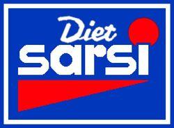 Diet Sarsi Sizzlers logo