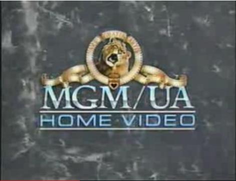 MGM UA Home Video Logo 1983
