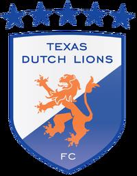 Texas Dutch Lions FC logo