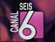 Ident Canal 6 (El Salvador) - 1999