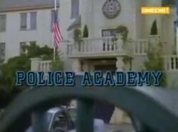 Police Academy- The Series Title Card