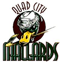 Quad City Mallards logo (1995-2001)