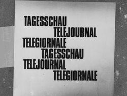 SF Tagesschau 1958