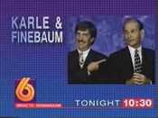 WBRC-TV Channel 6 Karle & Finebaum promo 1994